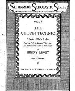 Levey Chopin Technic