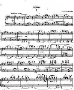 Piano-Sonata