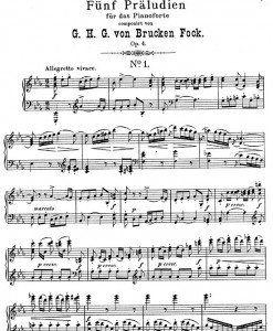 Funf-Präludien-Op.4