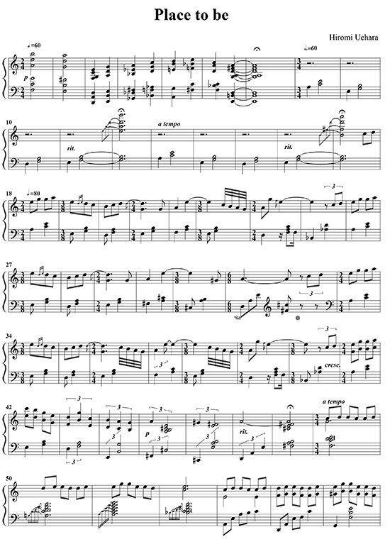 hiromi uehara sheet music pdf