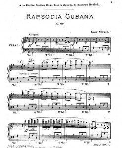 Albeniz---Rapsodia-Cubana