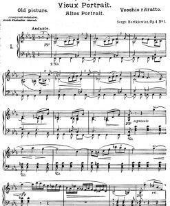 Bortkiewicz---Impressions-Op.4